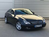 2007 57reg Mercedes-Benz CLS 3.0 CLS320 CDI Coupe 4dr Diesel 7G-Tronic 221bhp**high miles**fsh**