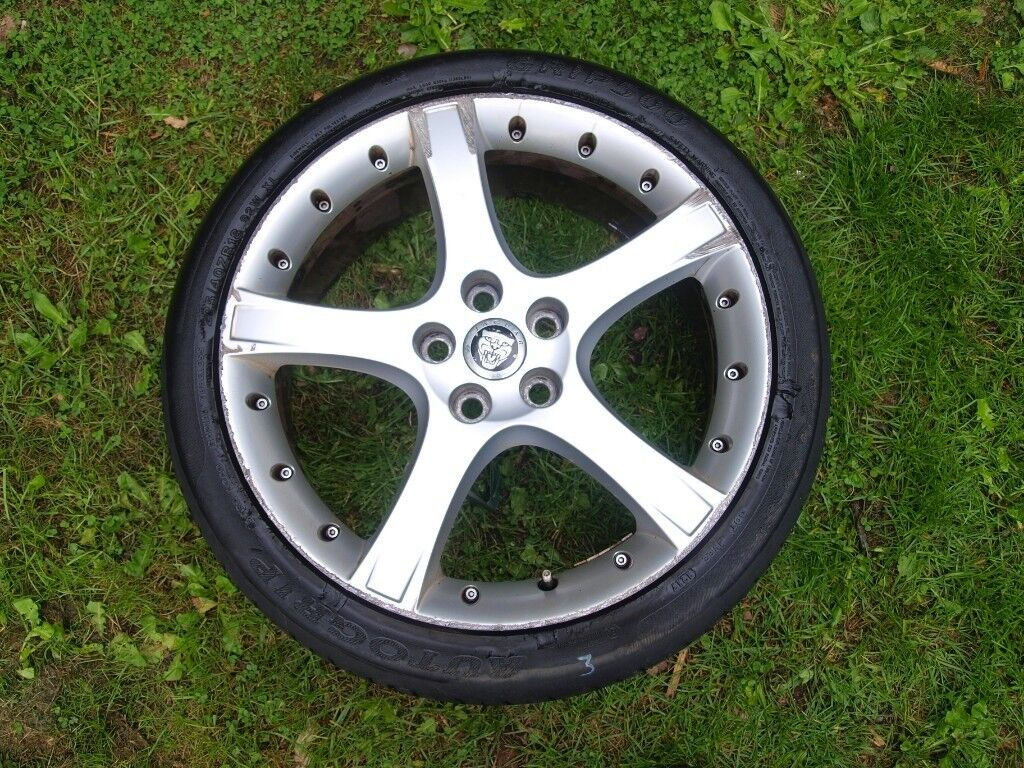 Jaguar X Type Genuine 18 Inch Proteus Alloy Wheel And Tyre In Relay Switch