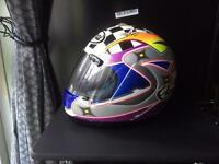 Arai race replica helmet