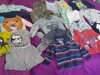 Large bundle of boys clothes 18-24 months - 20 items