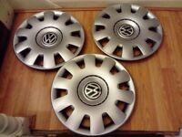VW wheel trims £10