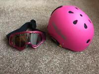 Snowboarding Helmet & Goggles