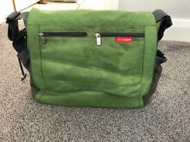 Skip hop green baby changing bag