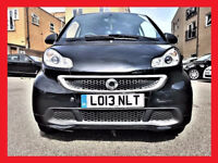 2013 Smart Fortwo 1.0 MHD Passion Softouch -- Automatic -- LEATHER Seats -- 28000 Miles -- Smart Car