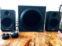 Logitech Z333 Speakers Black
