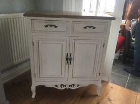 Cream shabby chic cabinet