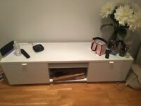 Tv stand , white, Ikea , cheap