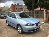 Seat Ibiza 1.2 12v SX 5dr, FULLY SERVICED, LOTS OF PAPERWORK WITH NEW TIMING CHAIN, DRIVES VERY WELL