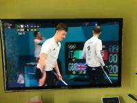 Samsung 46 inch 7000 series 3D HD 1080 TV, and 3D Blu-Ray Player - perfect condition