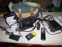 Cannon 8mm Camcorder with Loads of Accessories