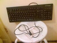 Black Kensinton Computer Keyboard
