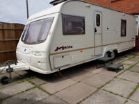 Avondale 4 berth caravan 2004/05 fixed bed + with full awning