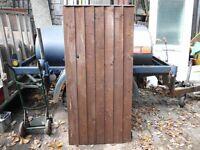 LARGE SHIPLAP WOOD GARDEN GATE