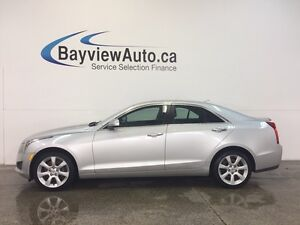 2014 Cadillac ATS - AWD! TURBO! HEATED LEATHER! ON STAR! CRUISE!