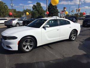 2015 DODGE CHARGER SXT- HEATED SEATS, REMOTE START, U-CONNECT, B