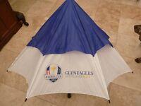 Gleneagles Ryder Cup golf umbrella 2014