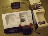 rode camera mic rycote videomic microphone