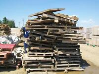 Pallets and Boxes FREE