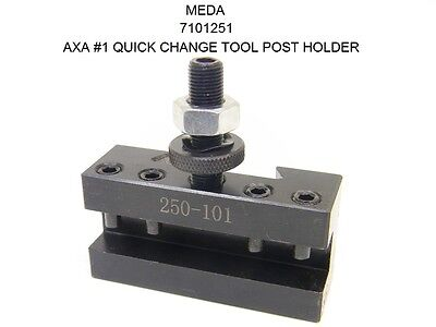 New Meda Axa 1 Quick Change 250-101 Tool Post Turning Facing Holder 7101251