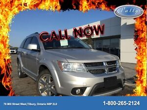 2011 Dodge Journey R/T, Awd, Leather, Moonroof!!!