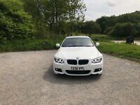 BMW 3 Series 320d M Sport / Convertible / Auto / White / Full BMW S.H