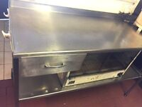 Stainless steel preparation unit