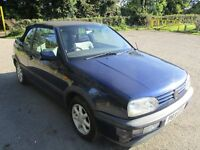 1996 P VOLKSWAGEN GOLF 2.0 AVANTGRADE AUTO CONVERTIBLE NEW MOT LOW 89K ALLOYS LOVELY DRIVE PX SWAPS