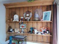 Aged shelf display unit
