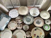 Vintage decorative crockery