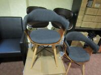 two french design chairs
