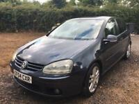 Volkswagen Golf MKV 2.0 GT TDI, 12 Months Mot, FSH, Just Serviced, Leather, Dual Climate Control