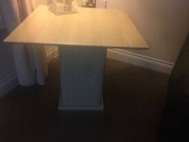 Marble Type Lamp Table from DFS Cost £395