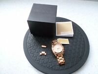 *MICHAEL KORS LADIES ~ CHRONOGRAPH WATCH* Boxed