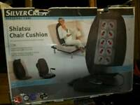 Heated seat massager