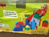 Fun foam building blocks