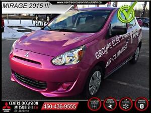 2015 Mitsubishi Mirage ES+ AIR RARE!