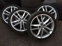 18 Leon alloys,alloys,cupra alloys,wheels,18 alloys,fr alloys,Leon alloys,seat alloys,Leon wheels,