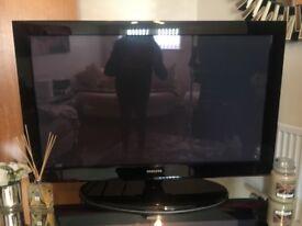 Black Samsung tv