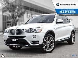 2017 BMW X3 Xdrive28i Premium Package Enhanced