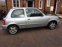 Nissan Micra VERY LOW MILEAGE-LONG MOT + all Nissan history!!