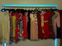 20 x BUNDLE GIRLS DRESSES 5 - 8
