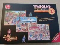 Wasgij vol 1 colectors set of 3 jigsaw puzzle