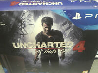 PS4 Console with uncharted 4 Brand new sealed