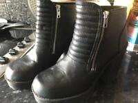 Ladies size 7 boots. Divided at H&M