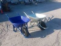 95lt builders galvanised wheelbarrow
