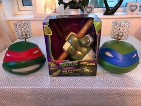 3D wall lights teenage ninja turtles