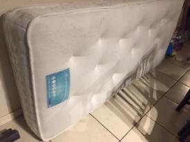 "Mattress ""Fogarty"" Single 1000 Pocket Cool Touch Gel. Original price £285"