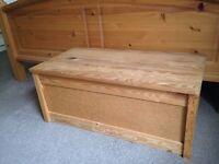 Wooden storage trunk/chest/box