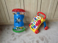 Baby Walker and inflatable roller