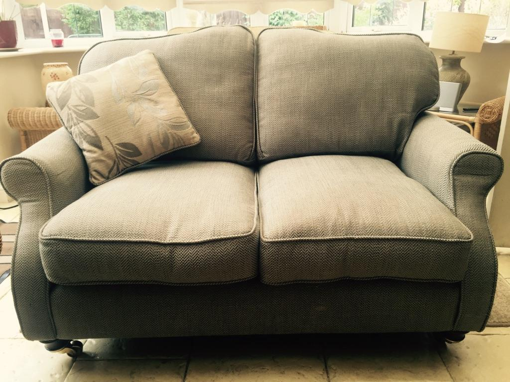 Two Laura Ashley Sofas 1 Two Seater 1 Three Seater In
